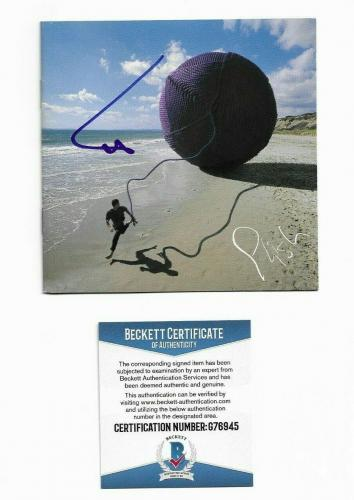 PHISH TREY ANASTASIO signed autographed CD BOOKLET BECKETT COA (BAS)