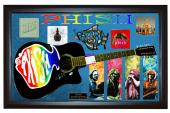 Phish Trey Anastasio Signed Guitar + Display Shadowbox Case PSA AFTAL UACC RD