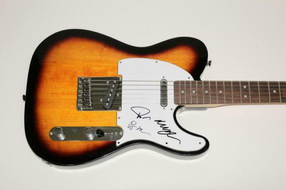 Phish X3 Signed Autograph Fender Electric Telecaster Guitar - Trey Anastasio +2