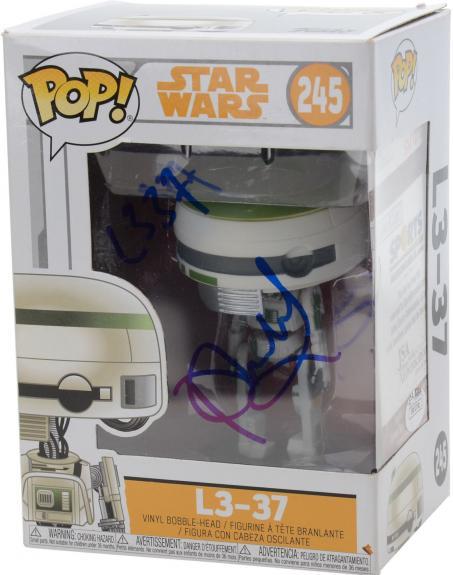 Phoebe Waller-Bridge Star Wars Autographed #245 L3-37 Funko Pop! - JSA