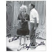Phyllis Diller Autographed Celebrity 8x10 Photo