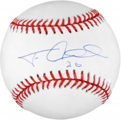 Felix Pie Chicago Cubs Autographed Baseball
