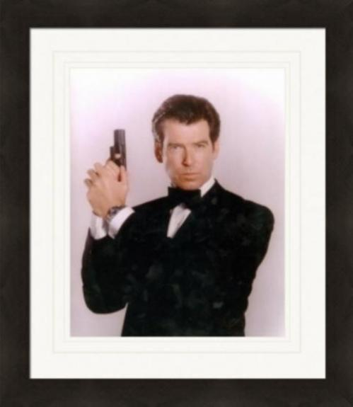 Pierce Brosnan 8x10 photo (James Bond) Image #1 Matted & Framed