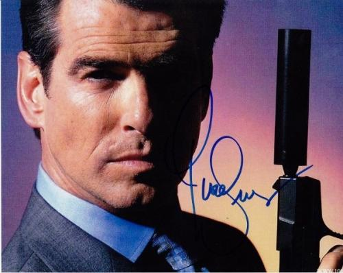 Pierce Brosnan Signed - Autographed James Bond 8x10 inch Photo - Guaranteed to pass BAS
