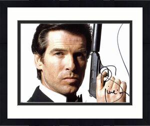 Pierce Brosnan James Bond 007 Signed 11x14 Photo BAS #C93033