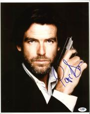 Pierce Brosnan James Bond 007 Signed 11X14 Photo PSA/DNA #I85664