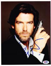 Pierce Brosnan James Bond 007 Signed 8x10 Photo Autograph Connery Coa A