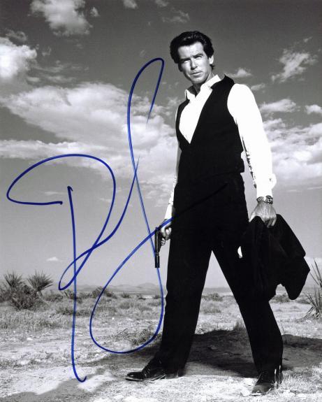 Pierce Brosnan James Bond 007 Signed 8x10 Photo BAS #F99223