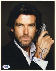 Pierce Brosnan James Bond 007 Signed 8X10 Photo PSA/DNA #I84675