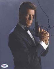 Pierce Brosnan James Bond Autographed Signed 8x10 Photo Authentic PSA/DNA COA