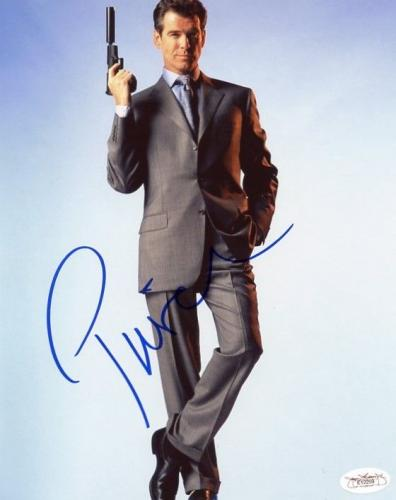 Pierce Brosnan James Bond Signed 8X10 Photo Autograph JSA #E12259
