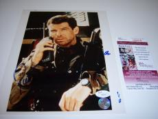 Pierce Brosnan James Bond,007 Jsa/coa Signed 8x10 Photo