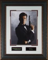 Pierce Brosnan- Laser Engraved 11x14 Signature Wall Decor