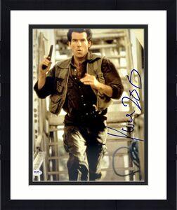 "Pierce Brosnan Signed 11x14 Photo PSA AJ24199 Autographed ""James Bond"" 007"