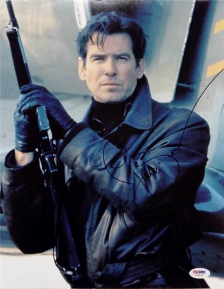 Pierce Brosnan Signed 11x14 Photo PSA/DNA James Bond 007 Auto F