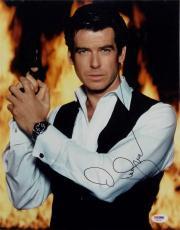 Pierce Brosnan Signed 11x14 Photo PSA/DNA James Bond 007 Auto H