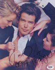 Pierce Brosnan Signed 8x10 Photo Autograph Auto PSA/DNA X69780