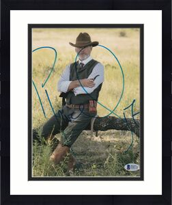 Pierce Brosnan Signed 8x10 Photo Son James Bond Beckett Bas Autograph Auto Coa A