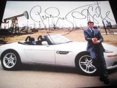 PIERCE BROSNAN SIGNED AUTOGRAPH 8x10 PHOTO JAMES BOND DIE ANOTHER DAY COA AUTO F