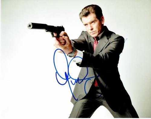 Pierce Brosnan Signed - Autographed 007 James Bond 11x14 inch Photo - Guaranteed to pass BAS