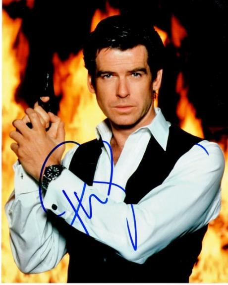 Pierce Brosnan Signed - Autographed 007 James Bond 8x10 inch Photo - Guaranteed to pass BAS