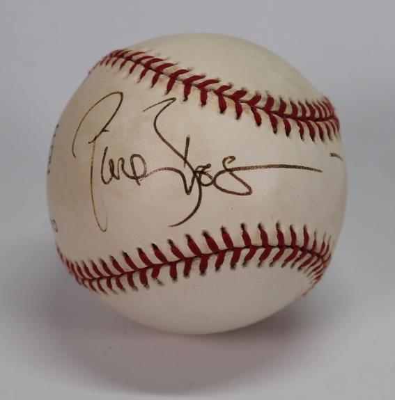 Pierce Brosnan signed autographed baseball! James Bond! RARE! JSA COA!