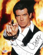 Pierce Brosnan Signed Bond Authentic Autographed 8x10 Photo PSA/DNA #X61444
