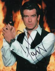 PIERCE BROSNAN signed *JAMES BOND 007* Die Another Day 8X10 photo W/COA PROOF #1