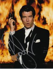 PIERCE BROSNAN signed *JAMES BOND 007* Die Another Day 8X10 photo W/COA PROOF #2