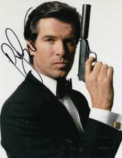 PIERCE BROSNAN signed *JAMES BOND 007* Die Another Day 8X10 photo W/COA PROOF #5