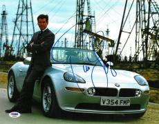 Pierce Brosnan Signed James Bond Autographed 11x14 Photo PSA/DNA #AB63805