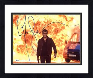Pierce Brosnan The November Man Signed 11X14 Photo BAS #B73231