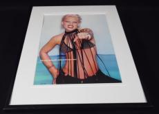 Pink Alecia Moore 2012 Bra Top Framed 11x14 Photo Display