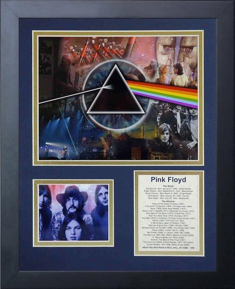 Pink Floyd Album List The Wall Roger Waters Syd Barrett Framed 8x10 Photo