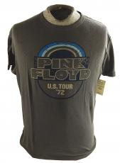 "Pink Floyd Lucky Brand ""US Tour 72"" Premium T-Shirt ^ Size Medium ^ Gray"