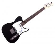 Pink Floyd Nick Mason Autographed Signed Tele Guitar Uacc Rd Coa