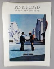 Pink Floyd Roger Waters & David Gilmour Signed Wish You Were Here Poster