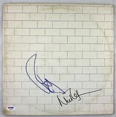 Pink Floyd Roger Waters & Nick Mason signed Graded 9 The Wall Album PSA/DNA