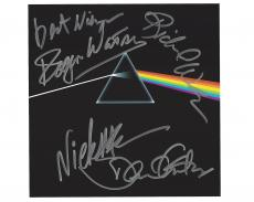 PINK FLOYD - Signed by BAND MEMBERS - NICK MASON, ROGER WATERS, DAVID GILMOUR, and RICHARD WRIGHT (RICHARD Passed Away 2008) Signed 11x8.5 Color