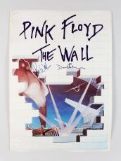 Pink Floyd – The Wall Poster Signed by Roger Waters & David Gilmour (JSA Full LOA)