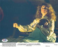 Piper Laurie Signed 'CARRIE' Autographed 8x10 Lobby Card (PSA/DNA) #U78425