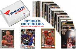 Scottie Pippen -Chicago Bulls- Collectible Lot of 20 NBA Trading Cards - Mounted Memories