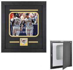 "Pittsburgh Pirates 8"" x 10"" Horizontal Setup Frame with Team Logo - Mounted Memories"