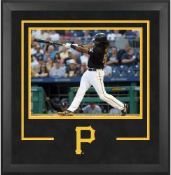 "Pittsburgh Pirates Deluxe 16"" x 20"" Horizontal Photograph Frame - Mounted Memories"