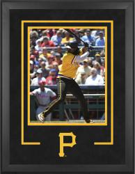 "Pittsburgh Pirates Deluxe 16"" x 20"" Vertical Photograph Frame - Mounted Memories"
