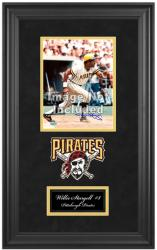 "Pittsburgh Pirates Deluxe 8"" x 10"" Team Logo Frame - Mounted Memories"