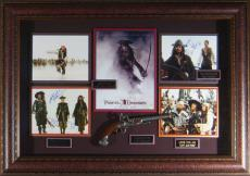 At World's End - Cast Autographed Framed Pirates Displa