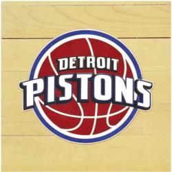 "NBA Detroit Pistons 12""x12"" Logo Floor Piece"