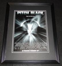 Pitch Black 1999 Framed 11x14 ORIGINAL Advertisement Vin Diesel Radha Mitchell