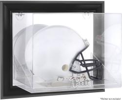 Pittsburgh Panthers Black Framed Wall-Mountable Helmet Display Case